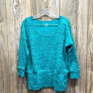 BCG Green Sweater